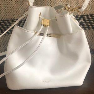 94e515dba9897 Ted Baker Bags - Ted Baker Adrene Crosshatch Leather Bucket Bag